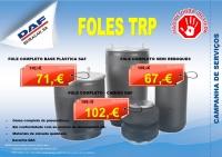 CAMPANHA DE SERVIÇOS - FOLES TRP